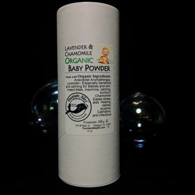 Organic Soothing Baby Powder