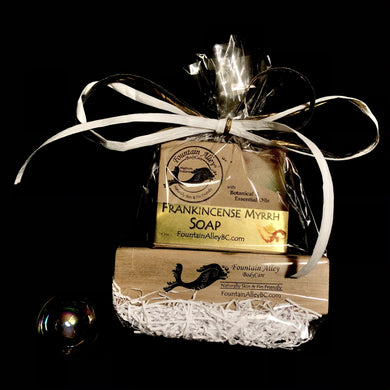 Frankincense, Myrrh, & Gold Holiday Gift
