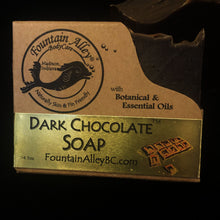 Load image into Gallery viewer, Dark Chocolate Soap