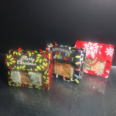 Holiday 4 Pack Soap Gift