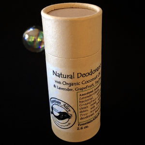 Fountain Alley Natural Organic Deodorant