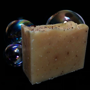 Lemon FlaxSeed Soap