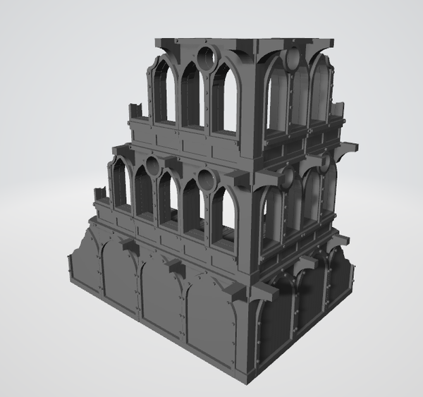 Gothic Ruins - 3 Story