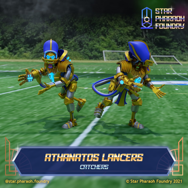 Athanatos Lancers Catchers for Dynastic Destroyers Fantasy Football Team
