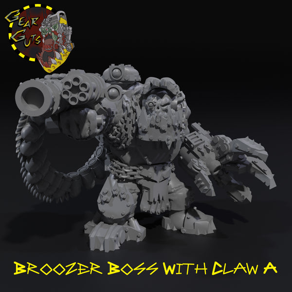 Broozer Boss with Claw - STL Download
