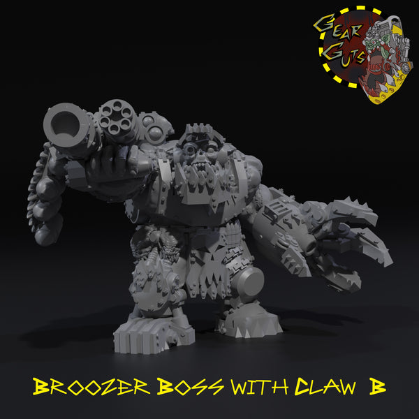 Broozer Boss with Claw - B - STL Download