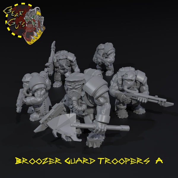 Broozer Guard Troopers x5 - A