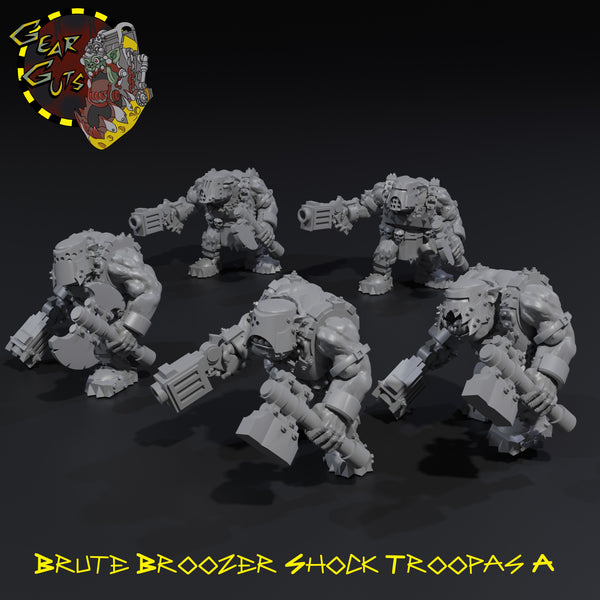 Brute Broozer Shock Troopas x5 - A - STL Download