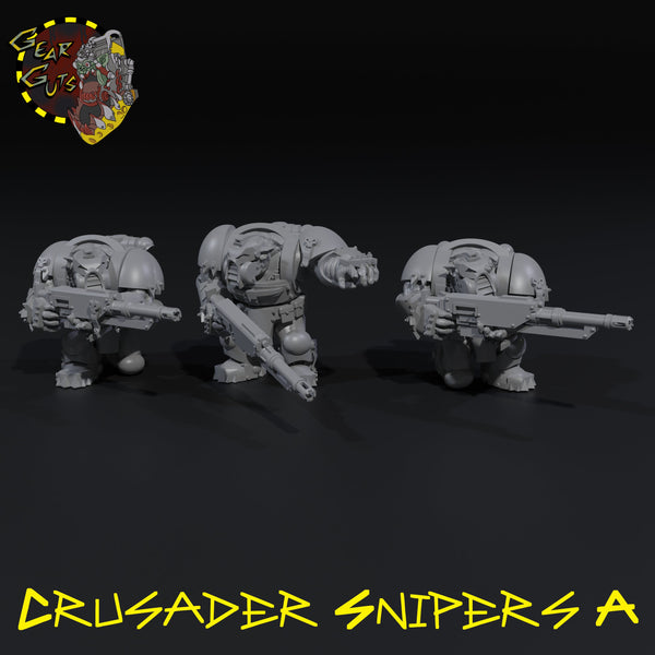 Crusader Snipers x3 - A