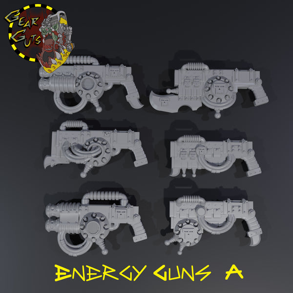 Energy Guns - A - STL Download