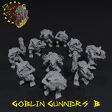 Goblin Gunners x10 - B - STL Download