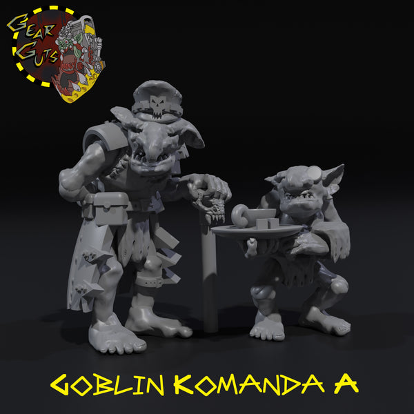 Goblin Komanda - STL Download