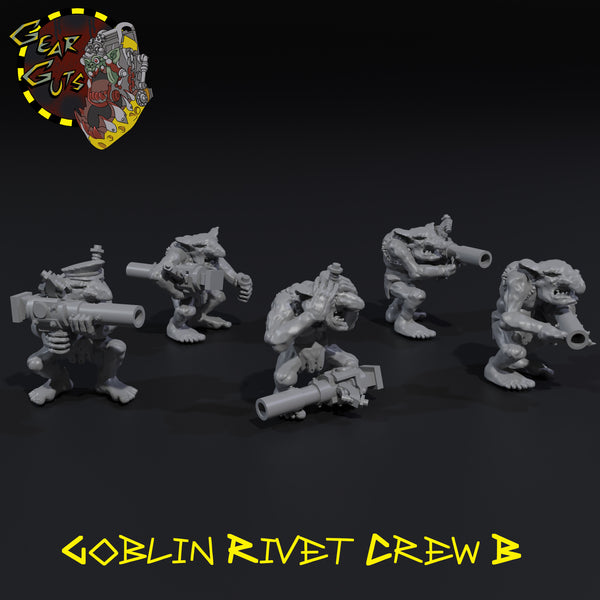 Goblin Rivet Crew x5 - B - STL Download