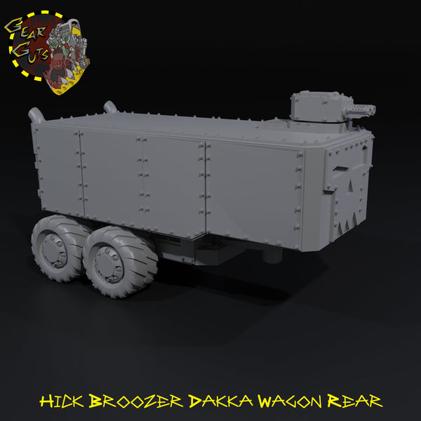 Hick Broozer Dakka Wagon - Rear - STL Download