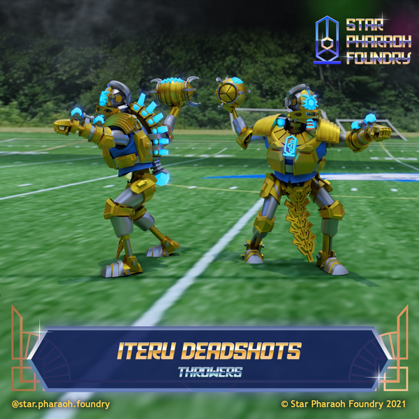 Iteru Deadshots Throwers for Dynastic Destroyers Fantasy Football Team
