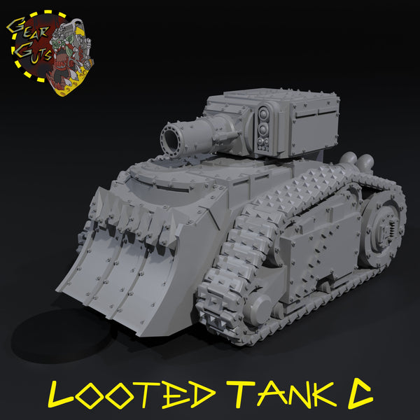 Looted Tank - C