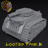 Looted Tank - E - STL Download