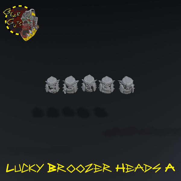 Lucky Broozer Heads x5 - A