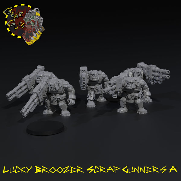 Lucky Broozer Scrap Gunners x5 - A