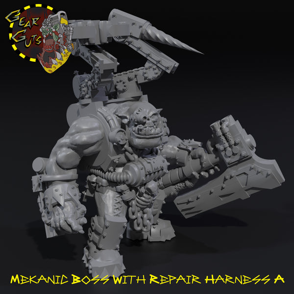 Mekanic Boss with Repair Harness - A