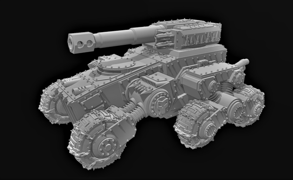 Rumbler Tank-STL Download