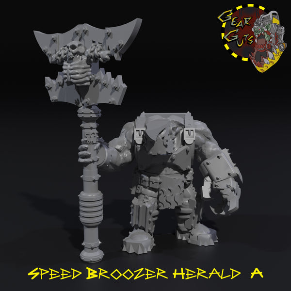 Speed Broozer Herald - A - STL Download