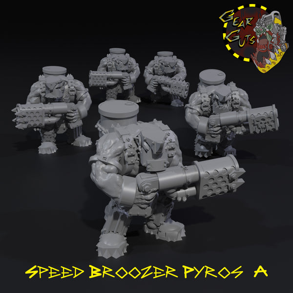 Speed Broozer Pyros x5 - A
