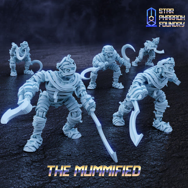 The Mummified - x5