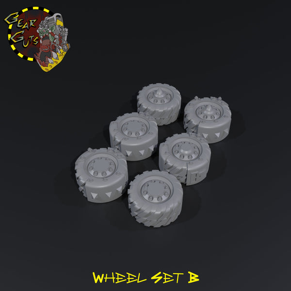 Wheel Bits - B - STL Download