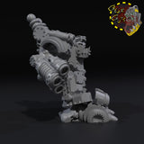 Armored Mekanic Boss with Shield Generator - B