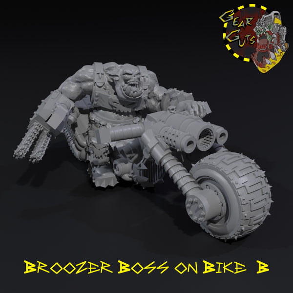 Broozer Boss on Bike - B - STL Download