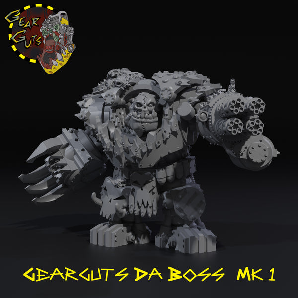 Gearguts da Boss - STL Download