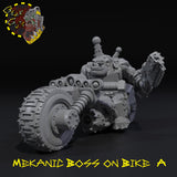 Mekanic Boss on Bike - A