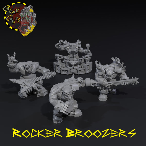 Rocker Broozers - STL Download