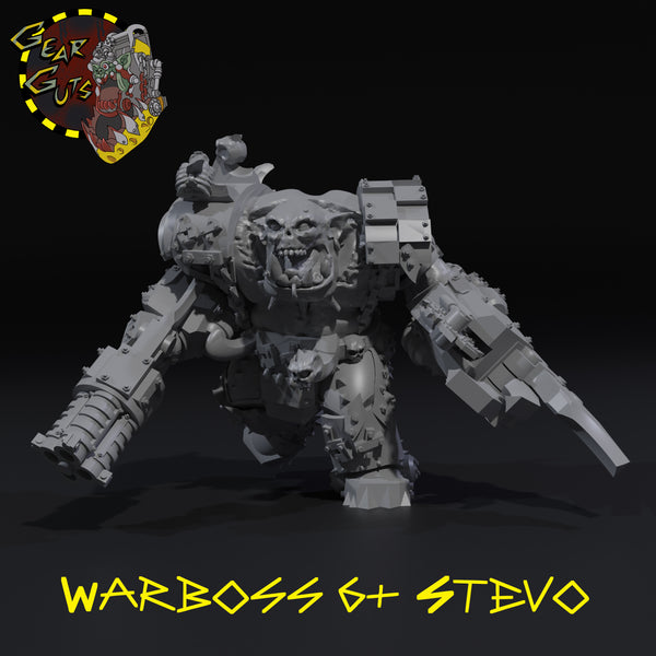 Warboss 6+ Stevo - STL Download