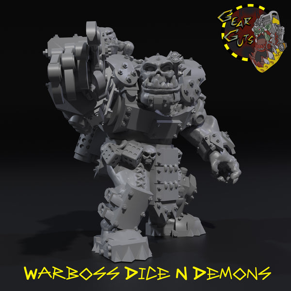 Warboss Dice 'n Demons - STL Download