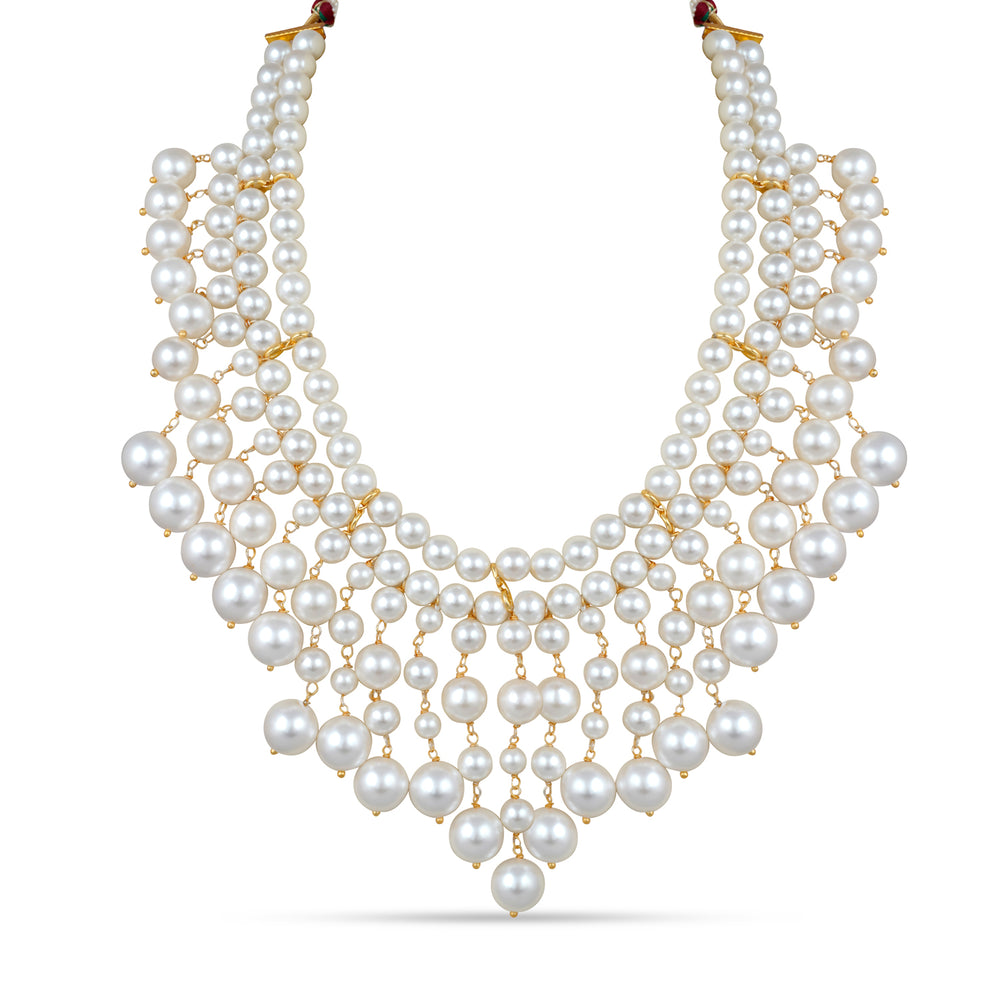 Alicia Pearl Necklace