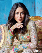 Bollywood Actress Kareena Kapoor Khan wearing Anayah Jewellery kundan haath panja available in Uk Scotland USA