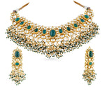 Kamila kundan necklace set