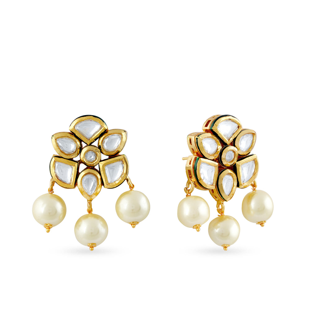 Holly Kundan studs