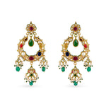 Amara Navratna Earrings