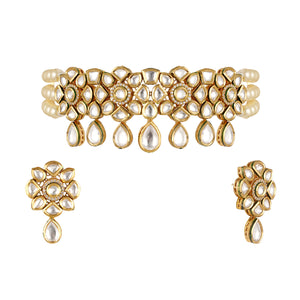 Load image into Gallery viewer, Alisa Kundan choker set