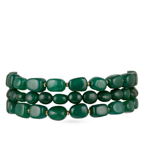 Load image into Gallery viewer, Emerald stone choker