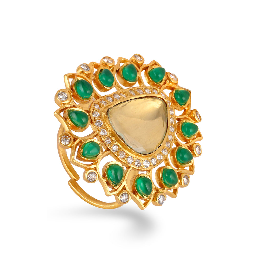 Lizbeth Kundan Ring