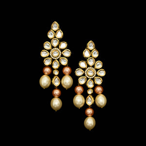 Uncut kundan choker and earrings. Pakistan jewellery UK