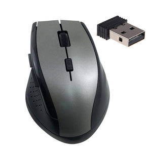 PC Computer Laptop Ergonomic 6 Keys 3200DPI Optical 2.4GHz Wireless Gaming Mouse