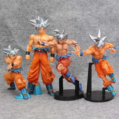DBZ Figurines Dragon Ball z Super Son gokou Goku Super Ultra Instinct Dominado (Migatte No Gokui) Model PVC Action Figure Toys