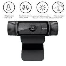 Load image into Gallery viewer, Logitech HD Pro Webcam C920e, 1080P Webcam Autofocus Camera Full HD ,Widescreen Video Calling and Recording C920 upgrade version