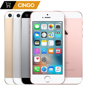 "iPhone SE   2GB RAM 16GB/32GB/64GB/128GB ROM 4.0"" Unlocked Fingerprint Original Mobile PhoneA1723 A1662  Apple A9 Dual-core"