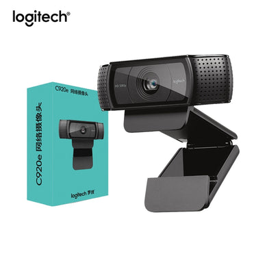 Logitech HD Pro Webcam C920e, 1080P Webcam Autofocus Camera Full HD ,Widescreen Video Calling and Recording C920 upgrade version